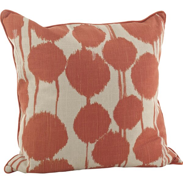 Artistica 100% Cotton Throw Pillow by Mercury Row